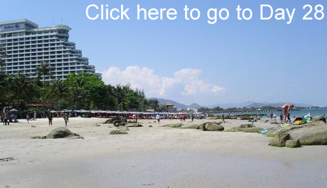 Bangkok get away Hua Hin beach