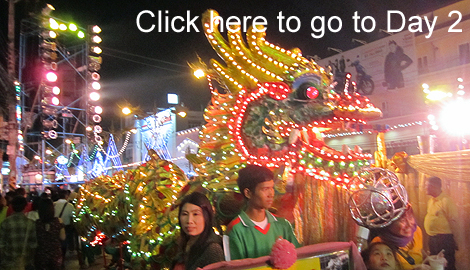 New Year's Eve in Chiang Rai