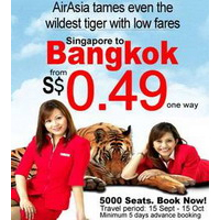 Air Asia Thailand 49ct Sale