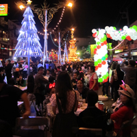 New Years Eve in Chiang Rai Northern Thailand