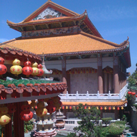 Chinese Temple in Northern Thailand