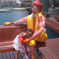Kids Love Ronald Mac Donald